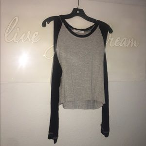 Tops - Casual Shoulder CutOut Shirt